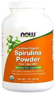 NOW Foods Organic Spirulina - The Organic Choice